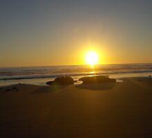 sunrise over the saucepan by clarerynhart