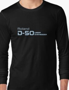 Vintage Roland D50 Synth Long Sleeve T-Shirt