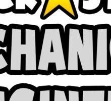 Rock Star Mechanical Engineer Sticker