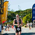 Kingscliff Triathlon 2011 Finish line B6217 by Gavin Lardner