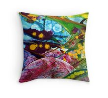 Symphony - Nine Throw Pillow