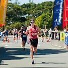 Kingscliff Triathlon 2011 Finish line B6227 by Gavin Lardner