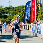 Kingscliff Triathlon 2011 Finish line B6228 by Gavin Lardner