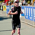 Kingscliff Triathlon 2011 Finish line B6238 by Gavin Lardner