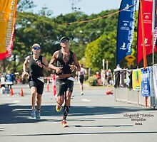 Kingscliff Triathlon 2011 Finish line B6244 by Gavin Lardner