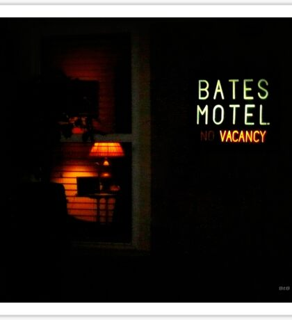 The Bates Motel Sticker