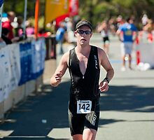 Kingscliff Triathlon 2011 Finish line B6252 by Gavin Lardner