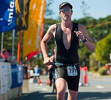 Kingscliff Triathlon 2011 Finish line B6254 by Gavin Lardner
