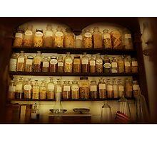 Apothecary Jars Photographic Print