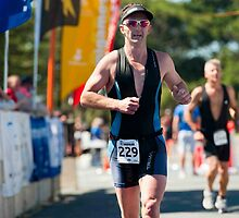Kingscliff Triathlon 2011 Finish line B6255 by Gavin Lardner