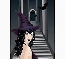 Gothic Stairs and Witch 3 Unisex T-Shirt