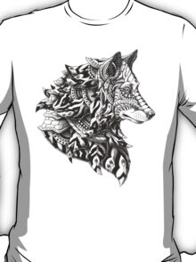 Wolf Profile T-Shirt