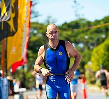 Kingscliff Triathlon 2011 Finish line B6320 by Gavin Lardner
