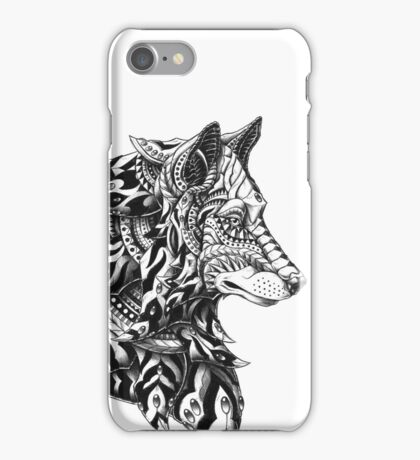 Wolf Profile iPhone Case/Skin