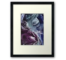 Reflective journey to other dimensions Framed Print