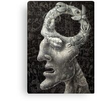 today I'm blind Canvas Print