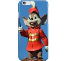 Circus Mouse Conductor Flying Elephant iPhone Case/Skin