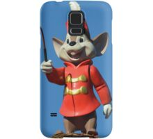 Circus Mouse Conductor Flying Elephant Samsung Galaxy Case/Skin