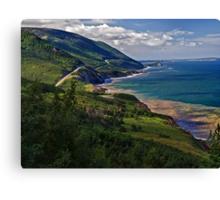 Cape Breton Highlands Canvas Print