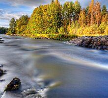 Colors Kiiminki on the river by Veikko  Suikkanen