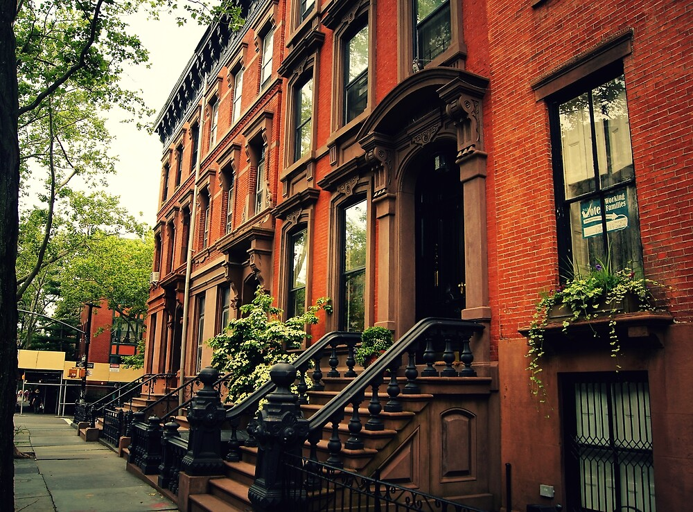 Cobble Hill - Brooklyn - New York City by Vivienne Gucwa