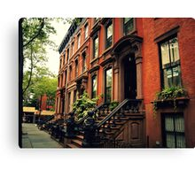 Cobble Hill - Brooklyn - New York City Canvas Print