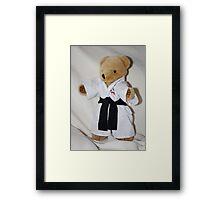 The Karate Kid (Ted) Framed Print