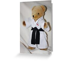 The Karate Kid (Ted) Greeting Card