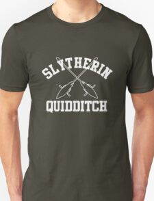 Slytherin Quidditch – Harry Potter, Hogwarts, Draco Malfoy T-Shirt