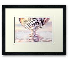 Heavenly Drop Framed Print