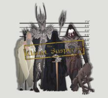 Lord of the Rings - The Usual Suspects: Villains by grevls