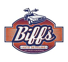 Biff's Auto-Dealing Photographic Print