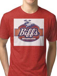 Biff's Auto-Dealing Tri-blend T-Shirt