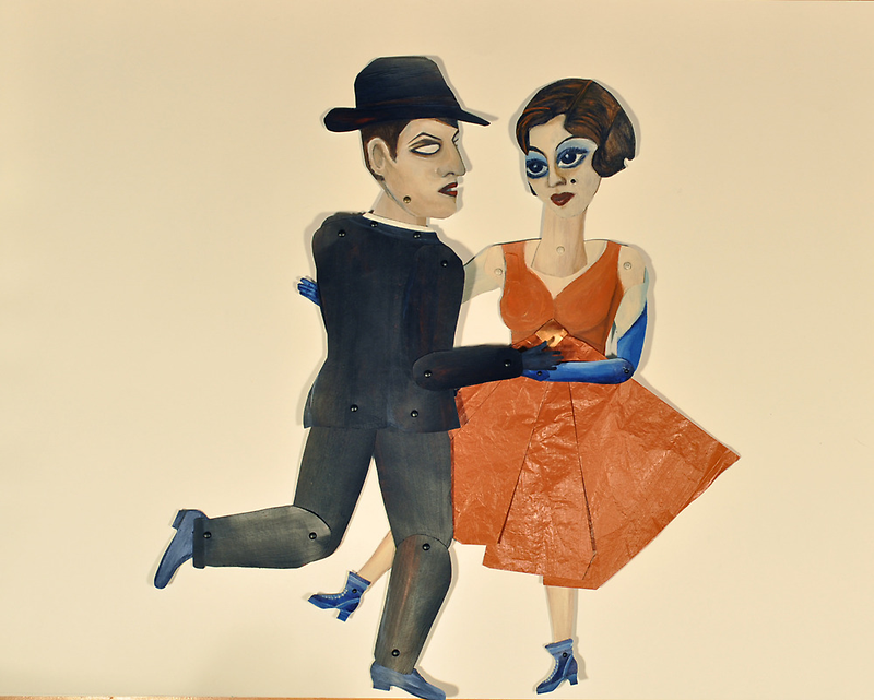 Dancing Maquettes by zoequixote