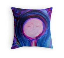 She Dreamed Of Sandy Beaches Throw Pillow