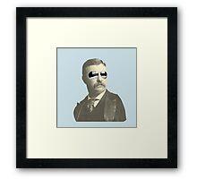 Tight Teddy Roosevelt Framed Print
