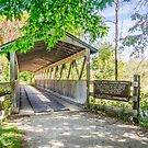 Kal-Haven Trail Covered Bridge by Robert Kelch, M.D.