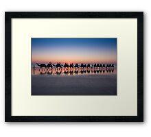 Cable Beach, Broome Framed Print