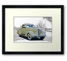1934 LaSalle Series 350 Coupe Framed Print