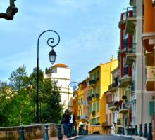 A Street in Monaco Sticker