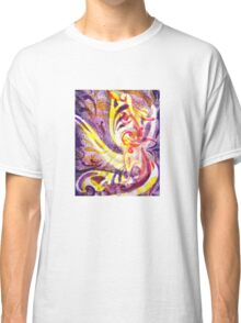 French Curve Abstract Movement III Classic T-Shirt