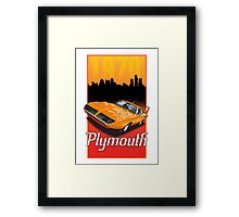 1970 Plymouth Superbird Framed Print
