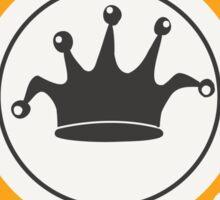 Jdm built not bought badge - orange Sticker