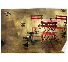 Festin de pigeons Poster