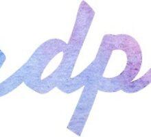 Alpha Delta Pi Watercolor by aburgerr