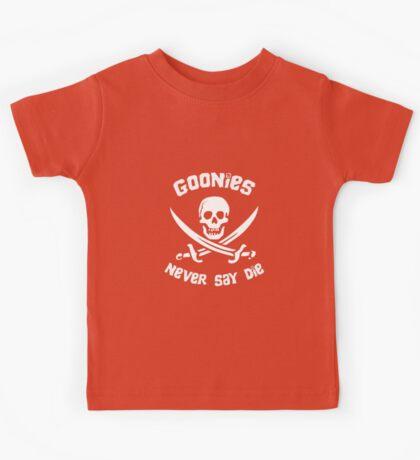 Goonies Never Say Die Kids Tee