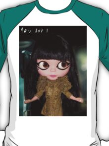 You & I Lady Gaga inspired doll picture T-Shirt