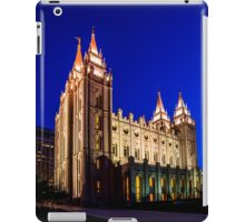 A Night at the Salt Lake Temple iPad Case/Skin
