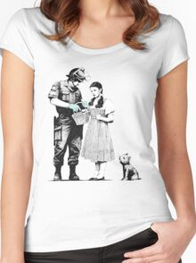 Bag Search Women's Fitted Scoop T-Shirt