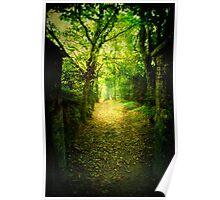 A grave entrance Poster